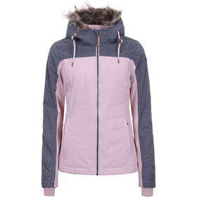 Icepeak Almyra Softshell Jas Dames, baby pink